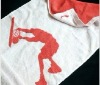 100% cotton sports towels cheap with logo
