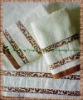 100% cotton square towel jacquard