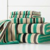 100 cotton strip bath towel
