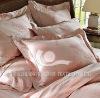 100% cotton stripe hotel bed linen custom