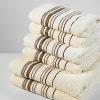 100% cotton stripe towel