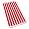 100% cotton striped towel beach