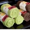 100% cotton tea towel (kitchen towel) / plain dyed, solid color