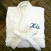 100% cotton terry bathrobe