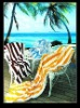 100% cotton terry beach towel