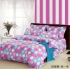 100% cotton twill bed sheet