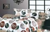100% cotton twill printing bed sheet/linen set