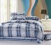 100% cotton twill round bed sheet