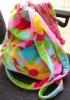 100% cotton velour printing beach towel bag