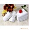 100 cotton white face towel