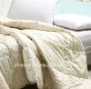 100% cotton white goose down feather comforter set