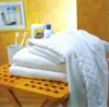 100 cotton white jacquard hotel towel