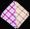 100% cotton yarn dyed Checks cleaning cloth for kitchen