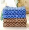 100 cotton yarn dyed Jacquard bath towel