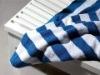 100% cotton yarn dyed bath towel