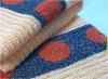 100% cotton yarn dyed bath towel fabic