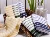 100 % cotton yarn dyed bath towel set