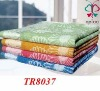 100% cotton yarn dyed bed sheet