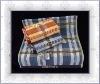 100% cotton yarn dyed dobby bath towel set