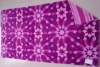 100%cotton yarn-dyed reactive printed beach towel