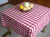 100% cotton yarn dyed table cloth & napkin