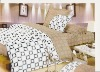 100% cottonactive printing bedding set--4PCS