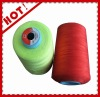 100% dyed polyester virgin single spun yarn
