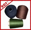 100% dyed polyester virgin single yarn 12/1