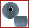 100% dyed polyester virgin single yarn 40/2