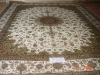 100% handknotted silk rug