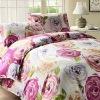 100% high quality cotton printed bedding sheet