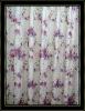 100% jacquard polyester printed curtain design