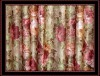 100% jacquard polyester printed fabric bright-colored shower curtain