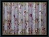 100% jacquard polyester printed fabric light curtain