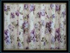 100% jacquard polyester printed fabric trailer curtains