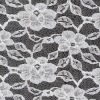 100% nylon rigid lace fabric