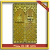 100% polyester Fadeproof Muslim Prayer Rug with Comfortable touch CTH-202