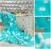 100% polyester Printed coral fleece blanket