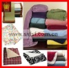 100 polyester bed throw blanket