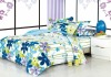 100%polyester brushed printed bed linens comforter