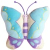 100% polyester butterfly shaped cushion