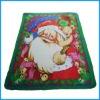 100% polyester christmats printing polar fleece blanket