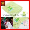 100 polyester embroidered baby blanket