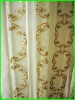 100% polyester embroidery sheer windows curtain