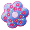 100% polyester flower shaped cushion