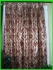 100% polyester heavy jacquard living room curtain