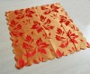 100% polyester hotel/wedding square/round bright color table napkin