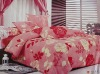 100%polyester jarquard printed bedding set/bedding set