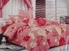 100%polyester jarquard printed bedding set/bedding set