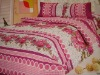 100%polyester microfiber printed bedding set / fabric